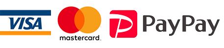 VISA・MasterCard・AmericanExpressがご利用可能です。お会計の際に仰ってください。※保険診療のかたは現金のみとなります