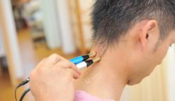 微弱電流治療(アキュスコープ・マイオパルス)による治療